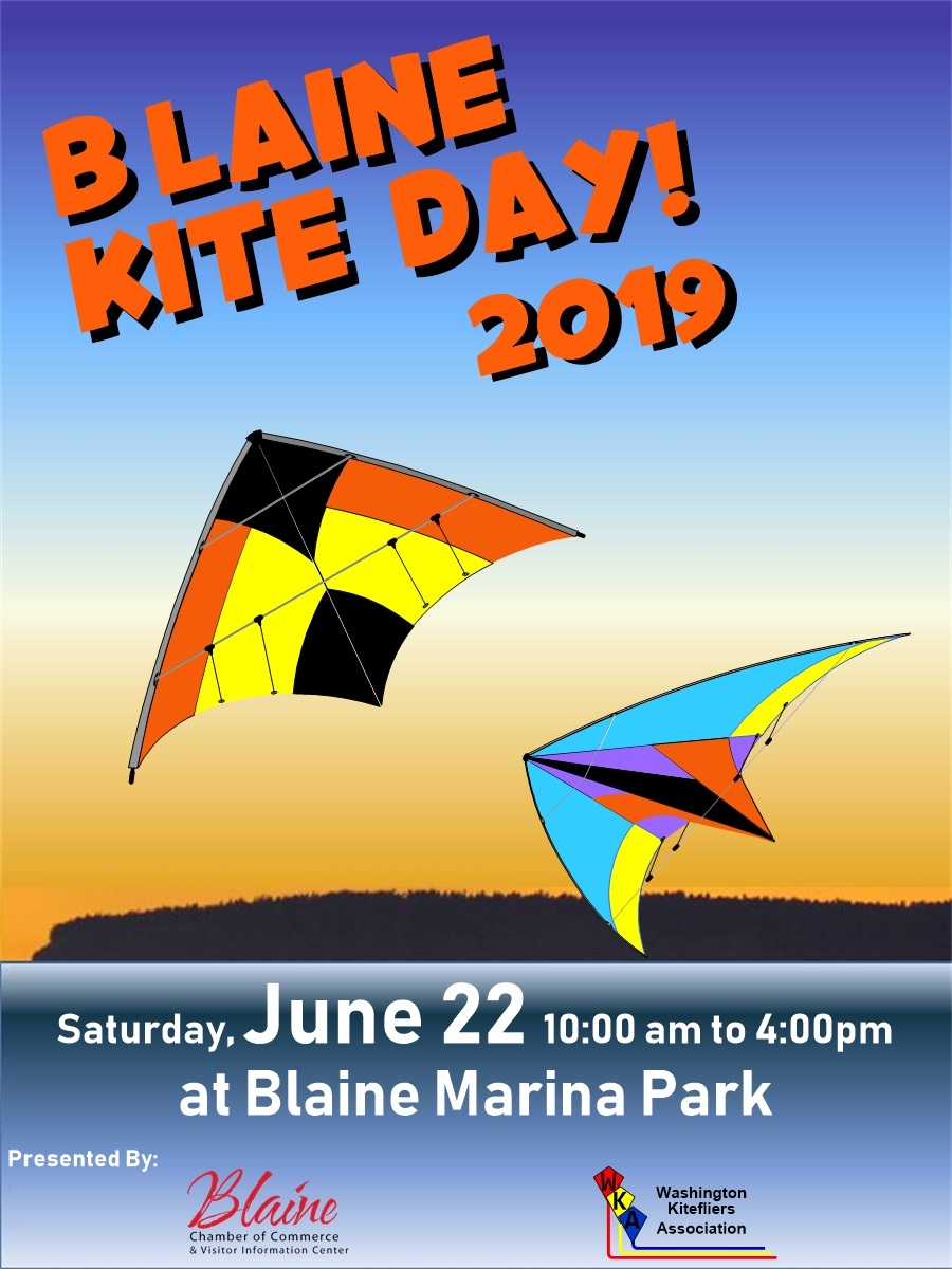 Blaine Kite Day Poster